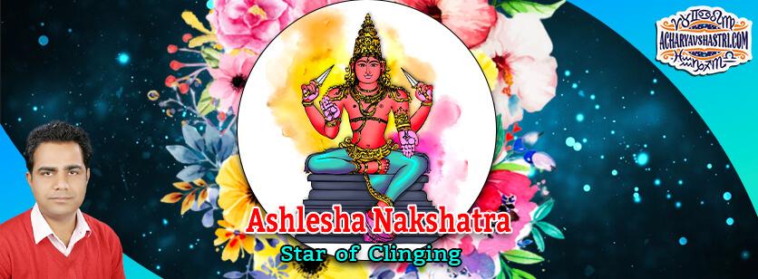 Ashlesha Nakshatra – Star of clinging