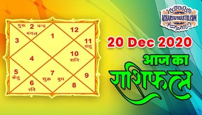 20 Dec Aaj Ka Rashifal | आज का राशिफल | मेष से मीन