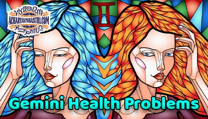 Gemini sign - Health and Medical Astrology