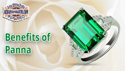 What are the Benefits of Panna or green emerald