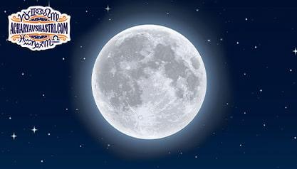 Moon has a deep impact on the mind