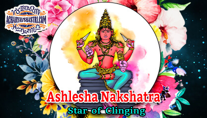 Ashlesha Nakshatra – Star of clinging